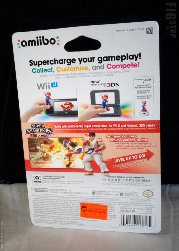 Amiibo Super Smashbros - RYU