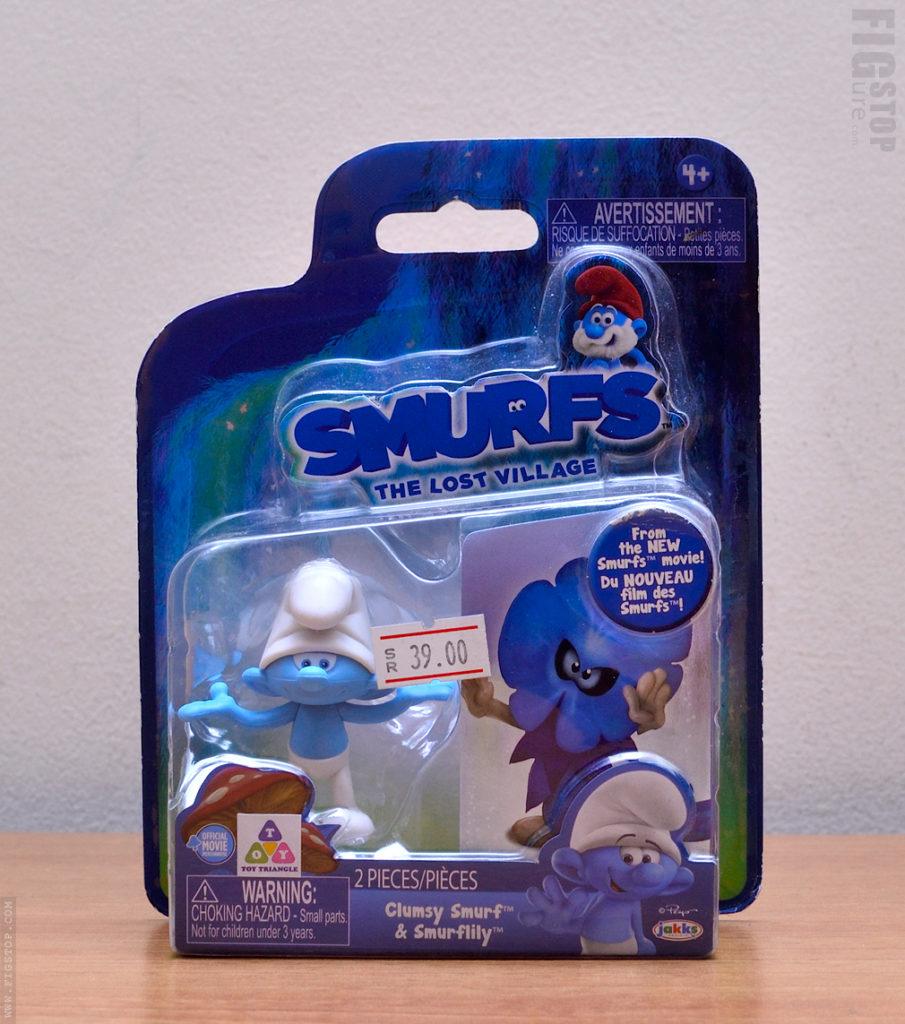 Smurfs The Lost Village - Clumsy Smurf & Smurflily