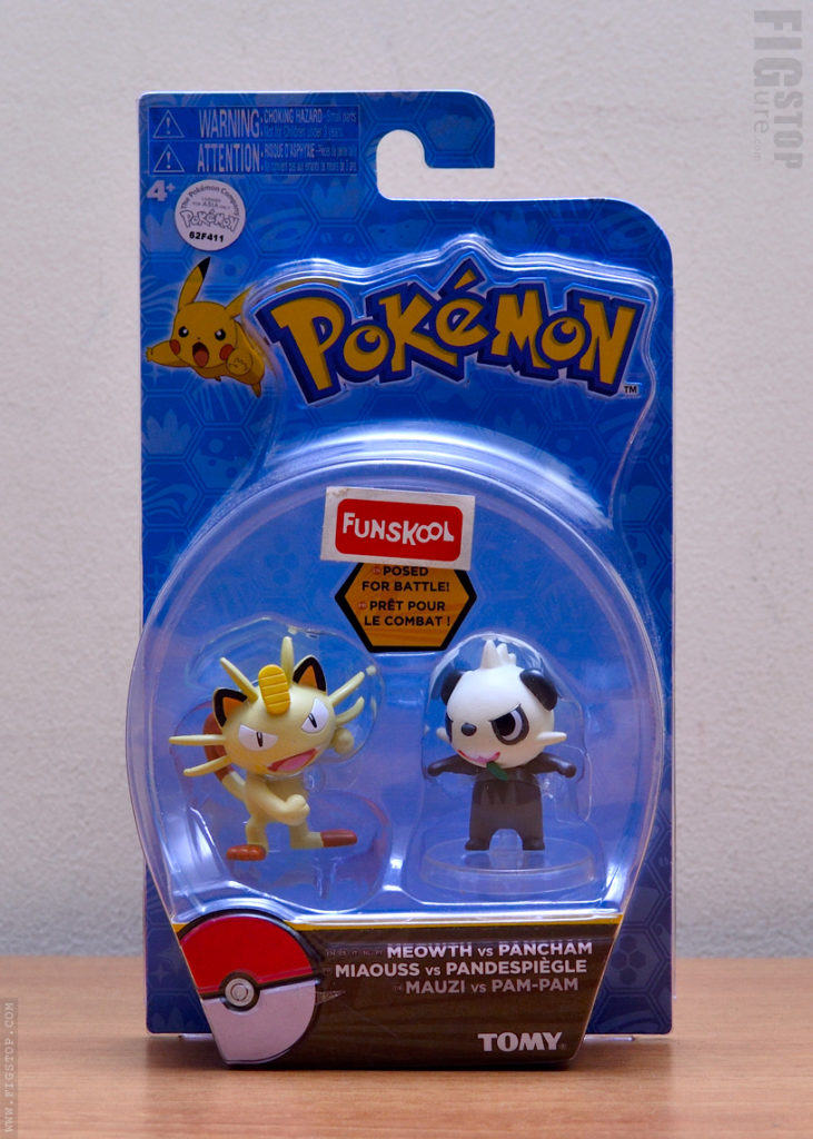 Pokemon Meowth and Pancham - Figurine