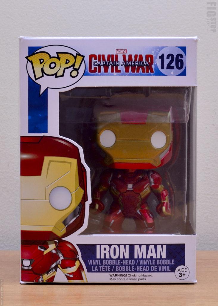Funko Pop - Captain America Civilwar Iron Man