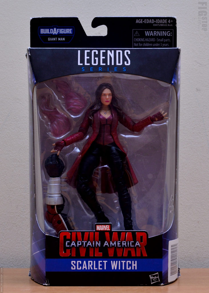 Captain America Civil War - Scarlet Witch-front