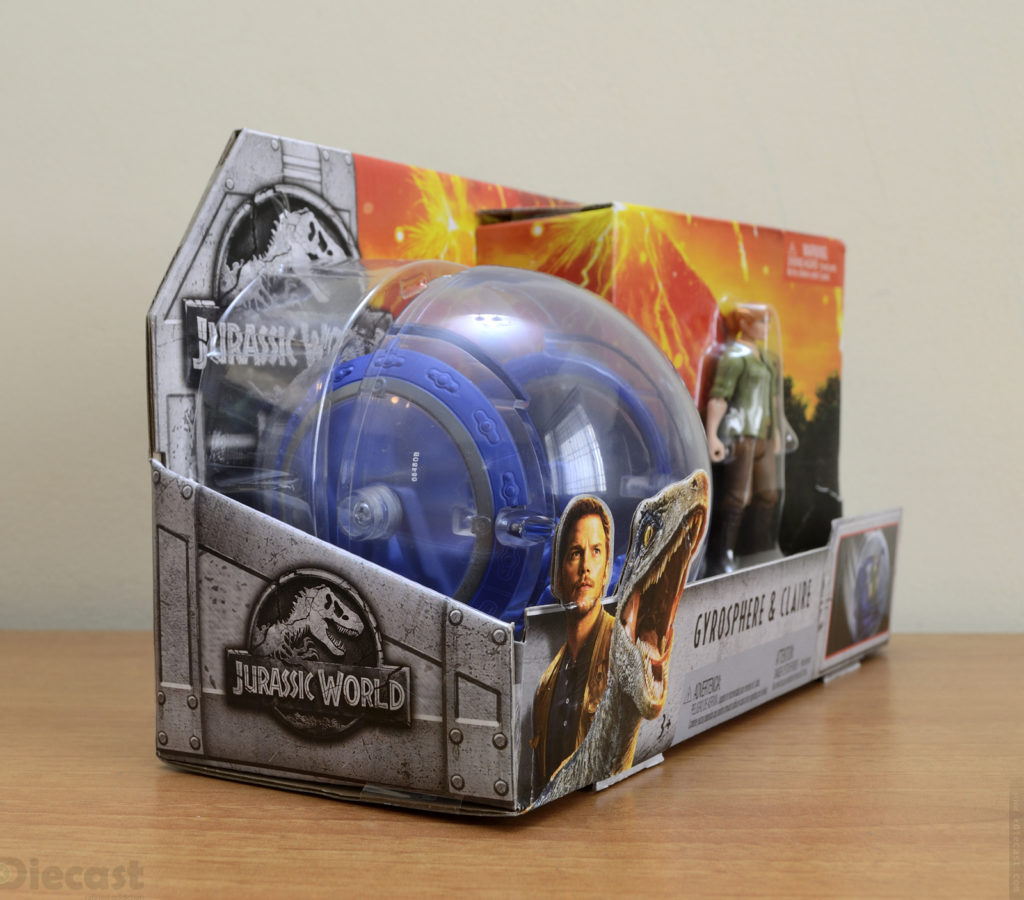 Jurassic World Gyroshpere Claire - Box