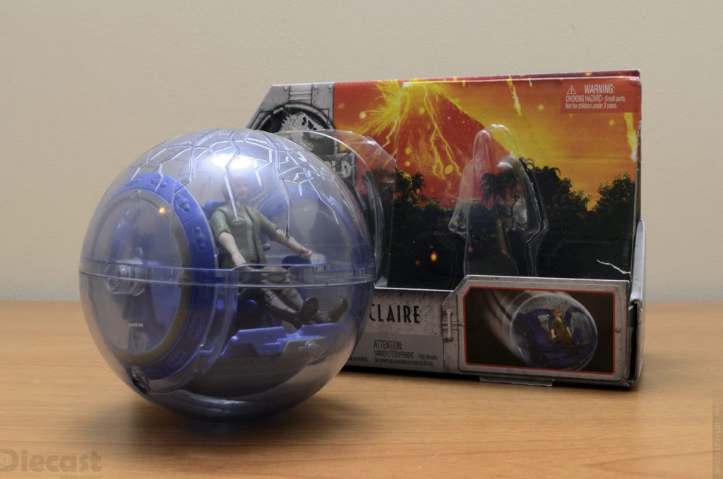 Jurassic World Gyroshpere Claire - Unboxed