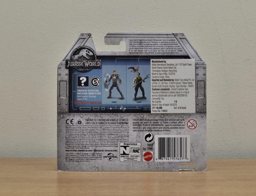 Mattel Owen & Babyblue Figure - Package