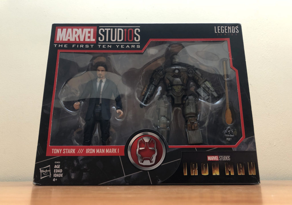 Marvel Studio The First Ten Years - Ironman Mark 1 and Tony Stark