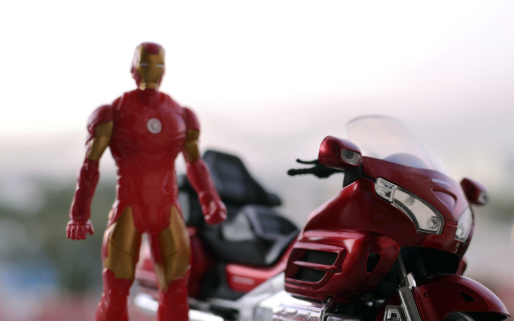 Ironman Gets his Goldwing