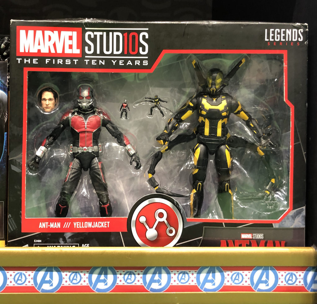 Mamleys Visit - Marvel Studio The First Ten Years - Antman Yellow Jacket