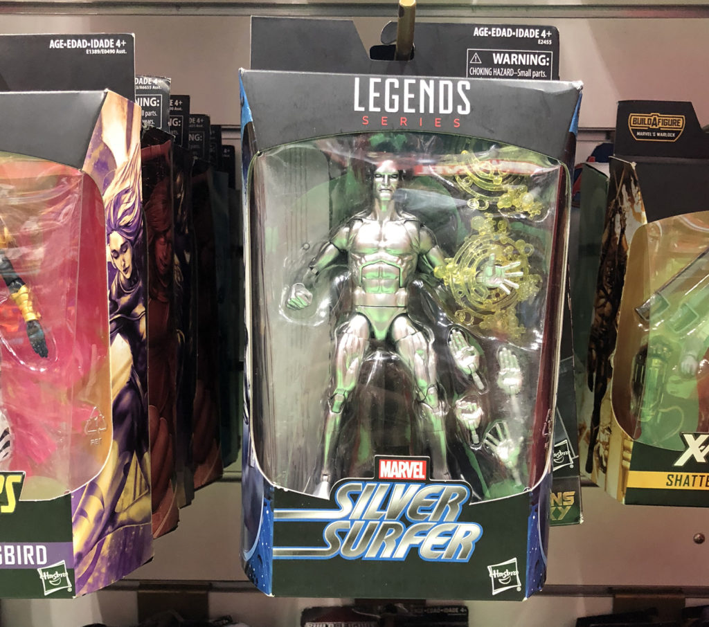 Mamleys Visit - Marvel Legends Silver Surfer