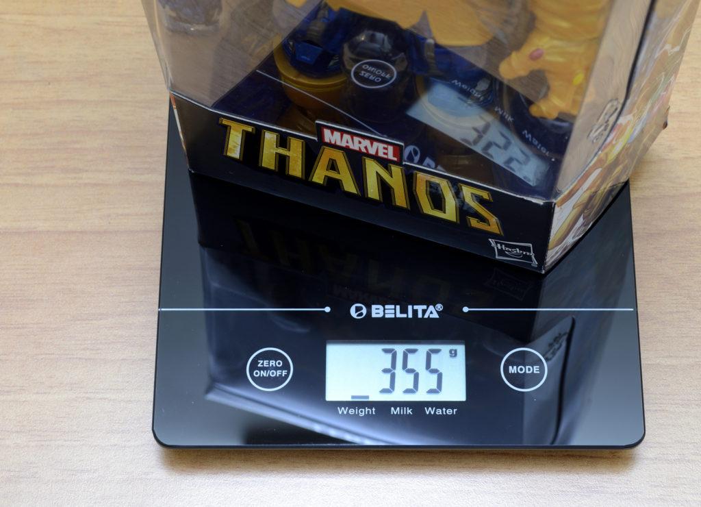 Hasbro Marvel Legends Thanos  - Weight