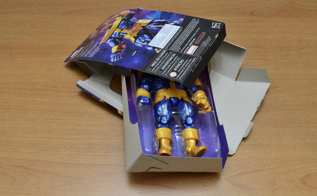 Hasbro Marvel Legends Thanos  - Unboxing