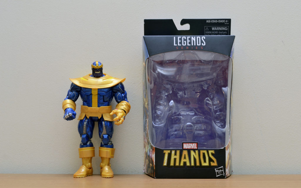 Hasbro Marvel Legends Thanos - Unboxed