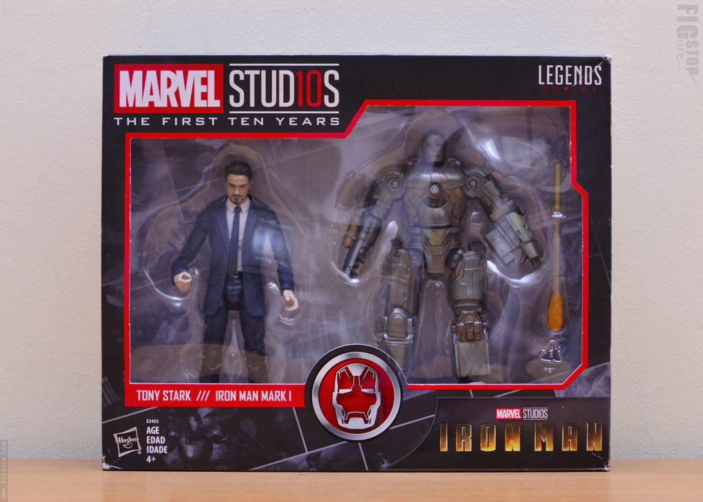 Marvel Studios The First Ten Years – Tony Stark and Ironman Mark 1