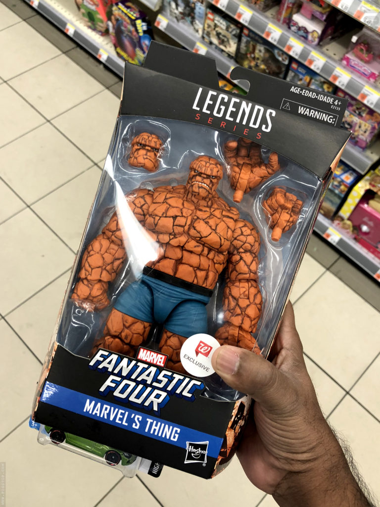 Marvel Legends Walgreens Exclusive The Thing