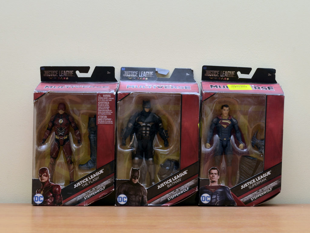 Justice Legue Figures DC Comics Multiverse