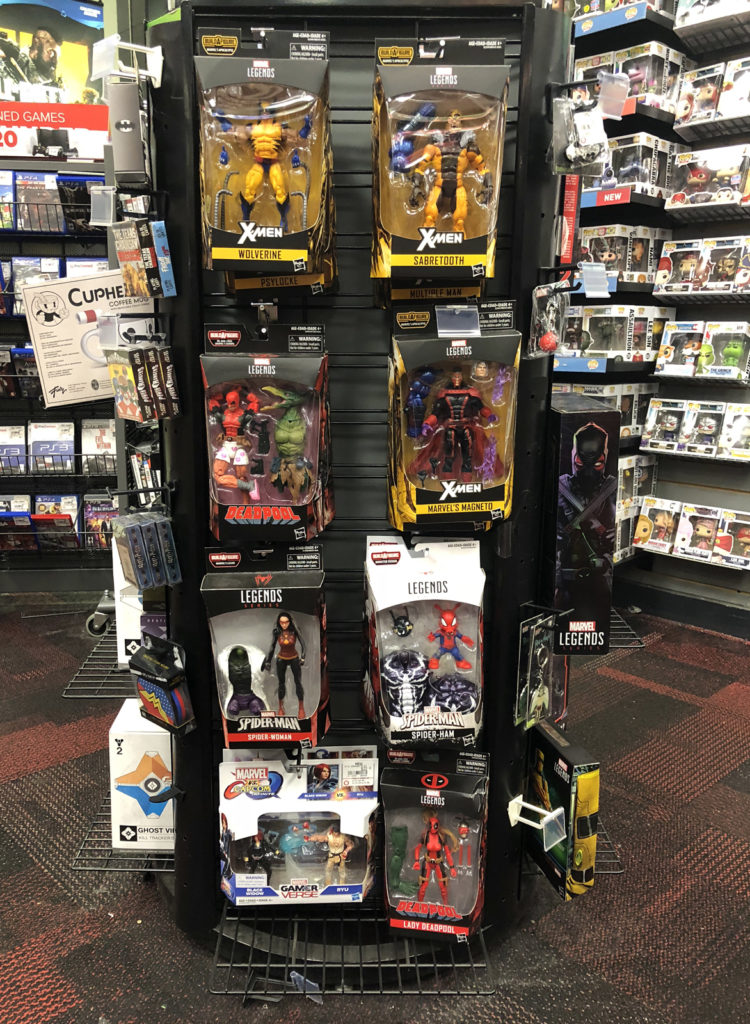 GameStop, Stamford - Marvel Legends Peg