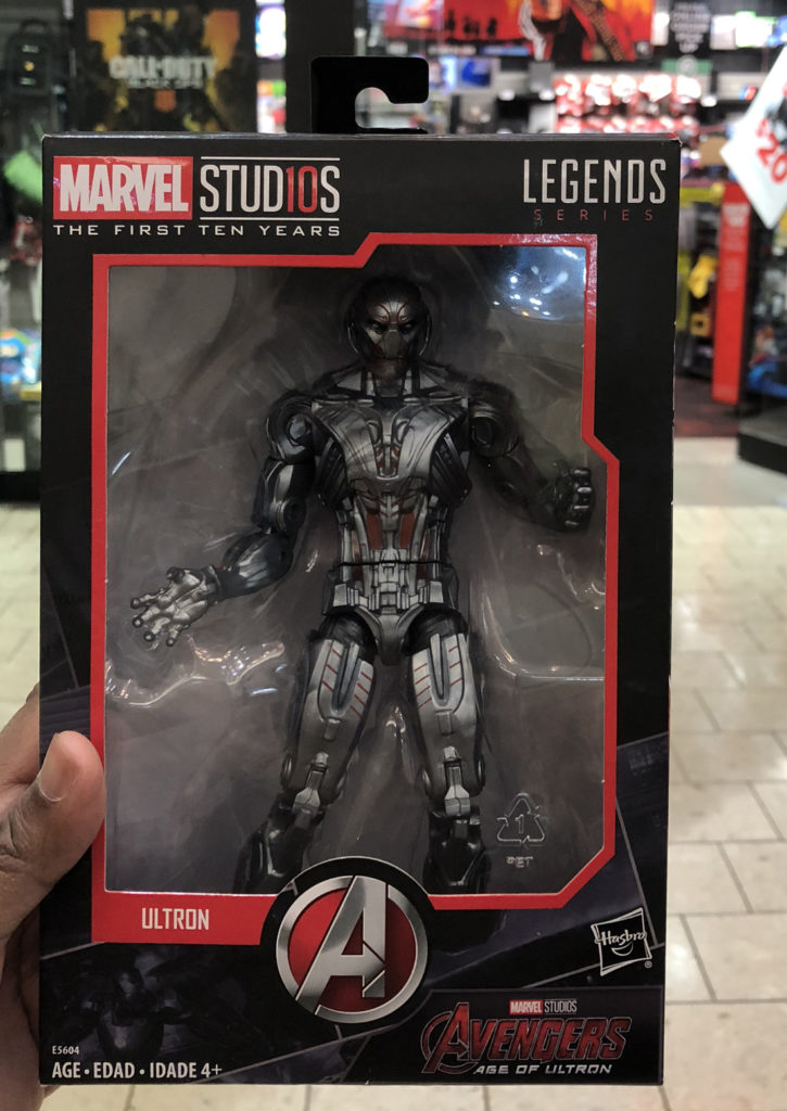 GameStop, Stamford - Marvel Studios The First Ten Years Peg