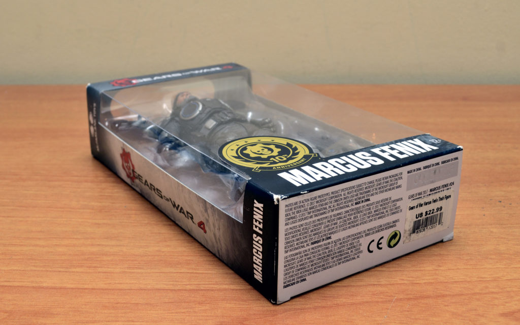 Gears of War-4 Marcus Fenix - Box