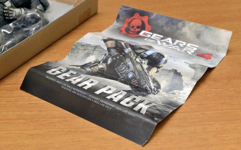 Gears of War-4 Marcus Fenix - Gear Pack