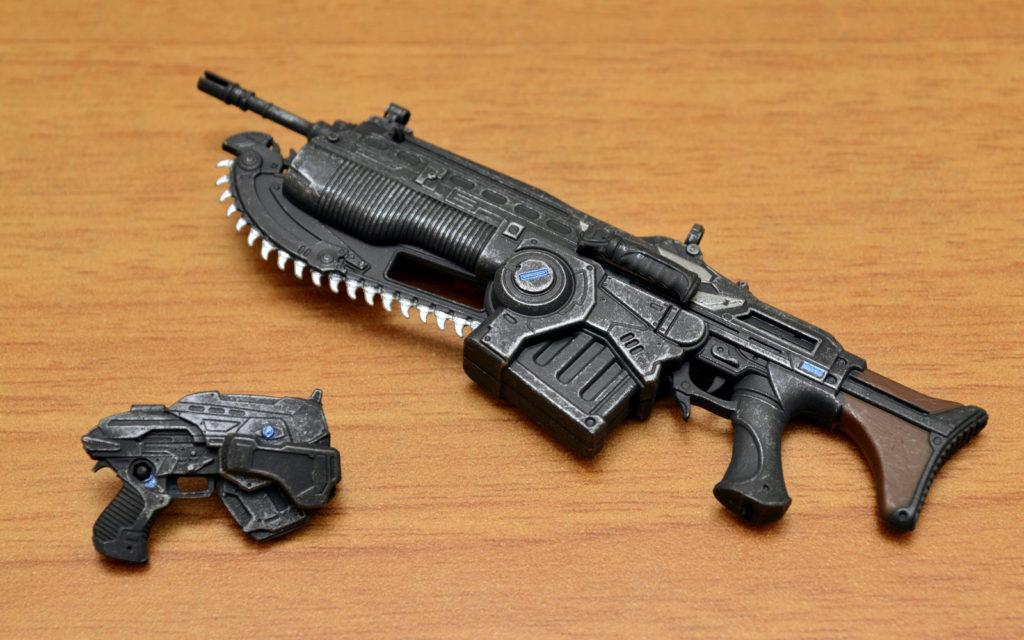 Gears of War-4 Marcus Fenix - Weapons