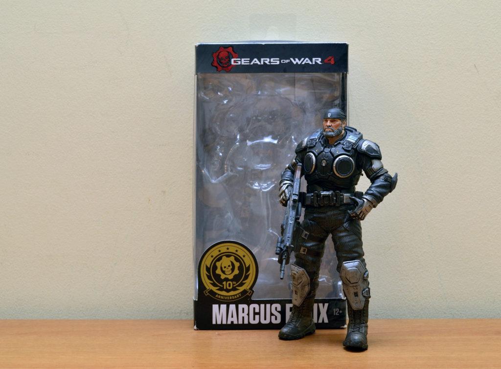 Gears of War-4 Marcus Fenix - Unboxed