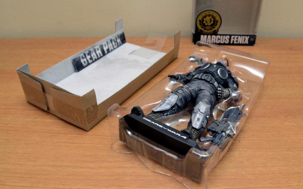 Gears of War-4 Marcus Fenix - Unboxing