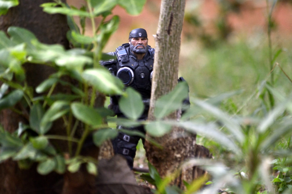 Marcus Fenix - Action Figure Outdoor Photography