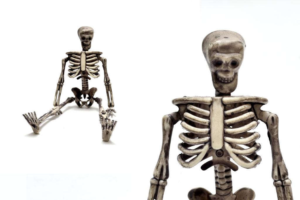 Skeleton Figure - Closeup