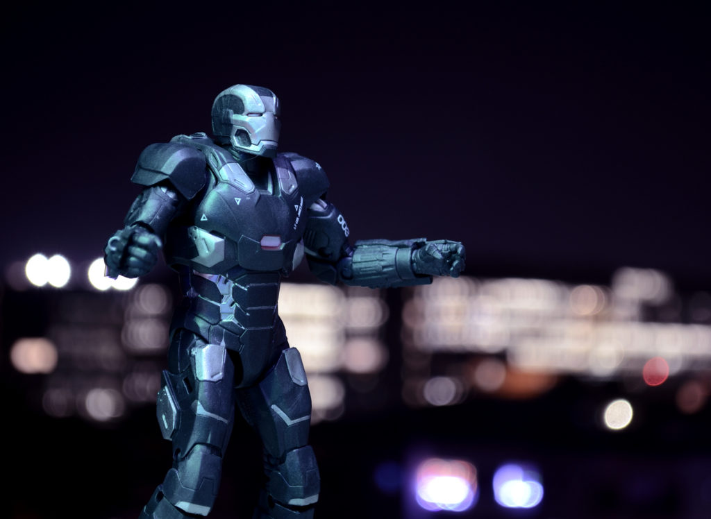 Marvel Legends War Machine - Toy Photography