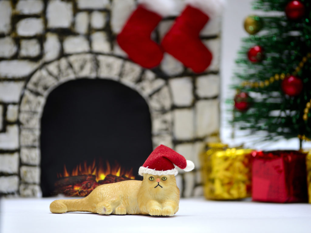 Pepper Potts Cat's Christmas