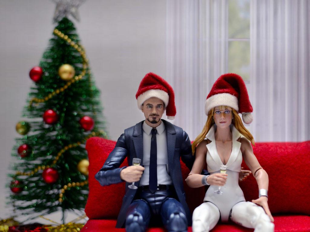 Tony Stark & Pepper Potts Christmas
