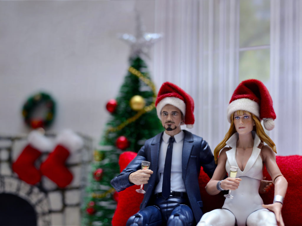 Tony Stark & Pepper Potts Christmas