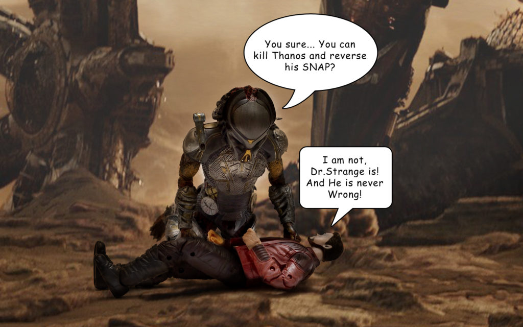 Avengers: Endgame - Ironman Rescued by Predator