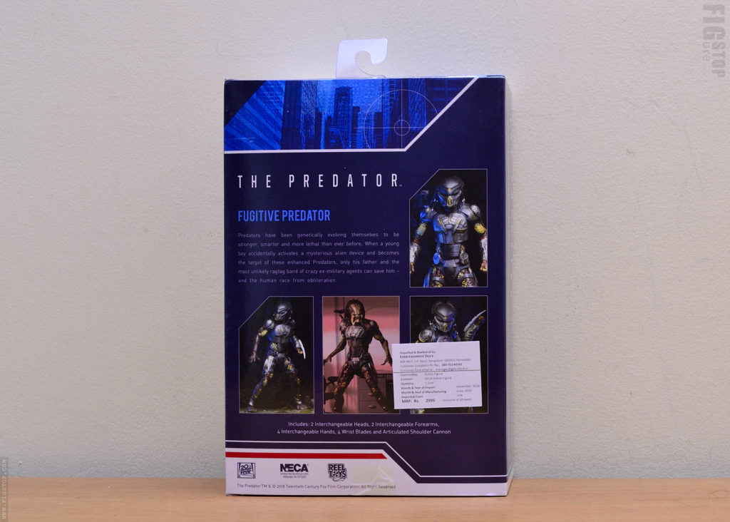 Neca Ultimate Fugitive Predator