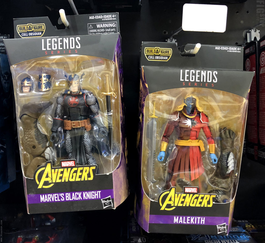 Cull Obsidian Wave - Malekith and Marvel's Black Knight