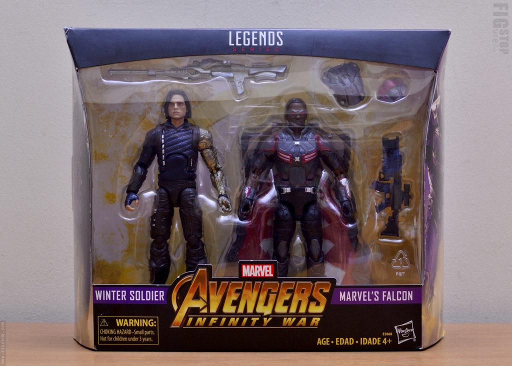 Avengers: Infinity War - Winter Soldier & Falcon