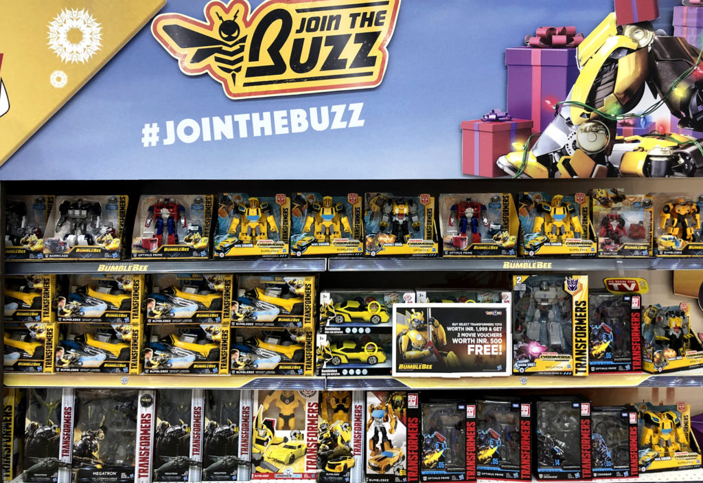 Toys R Us prepared for Bumblebee