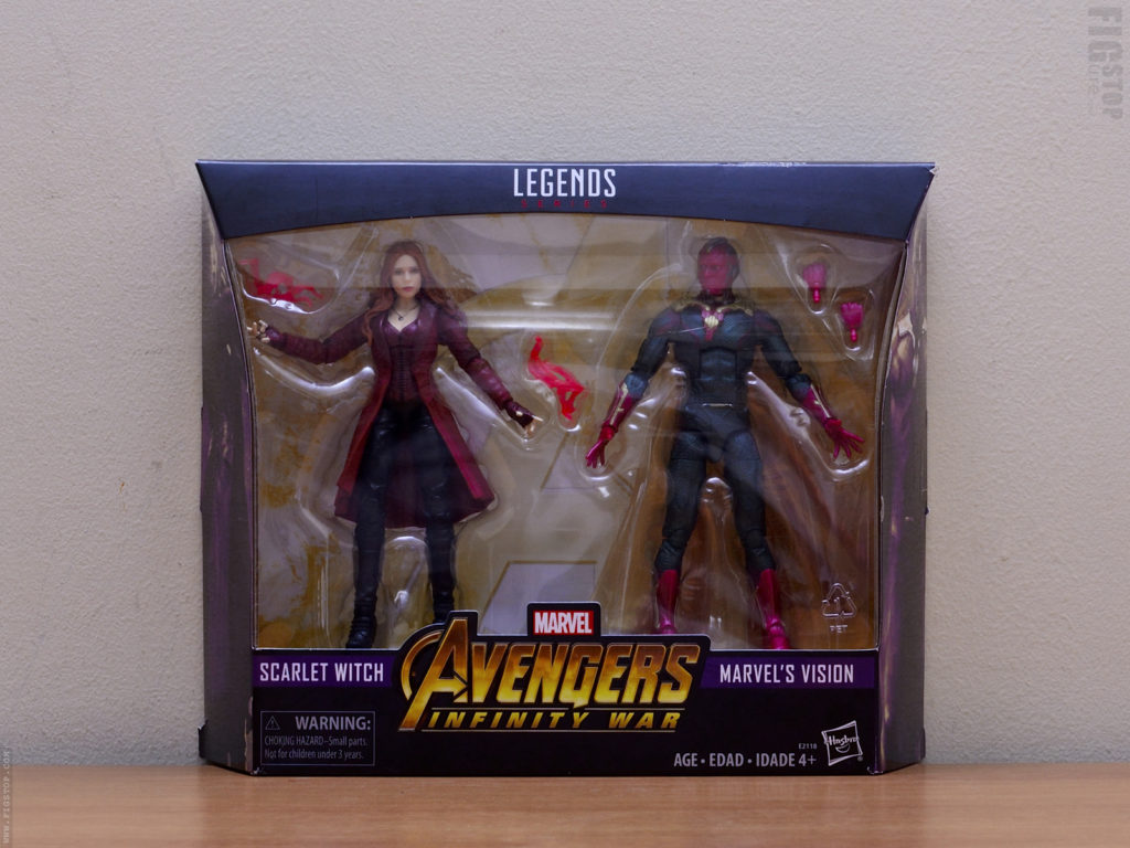 Scarlet Witch and Vision - 2 Pack