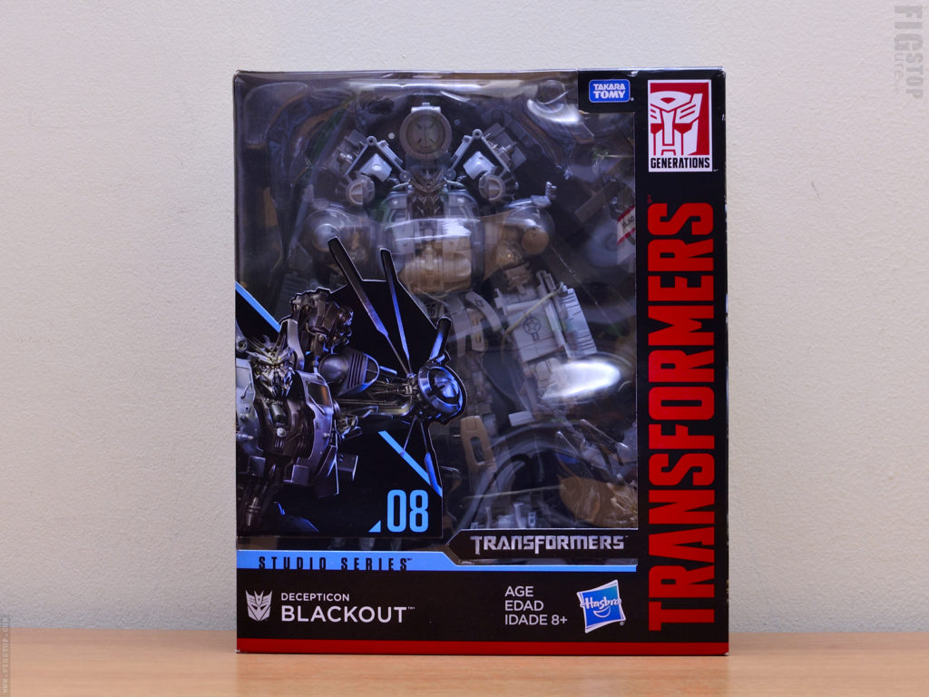 Transformers Blackout - Studio Series