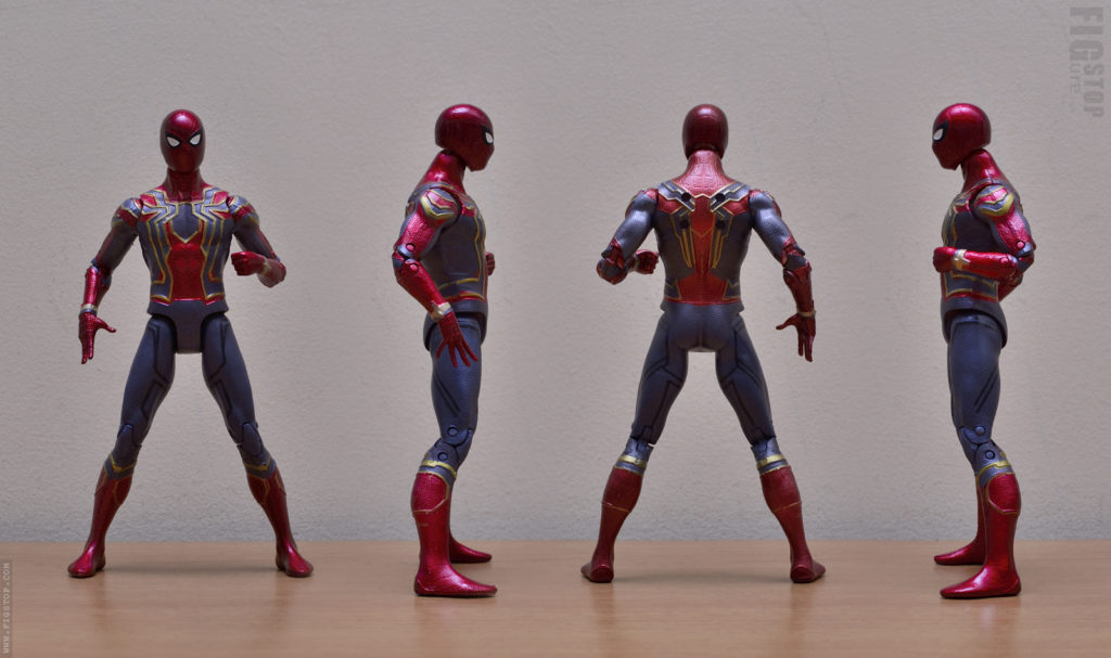 Chinese Iron Spider Action Figure - 360 Degree View