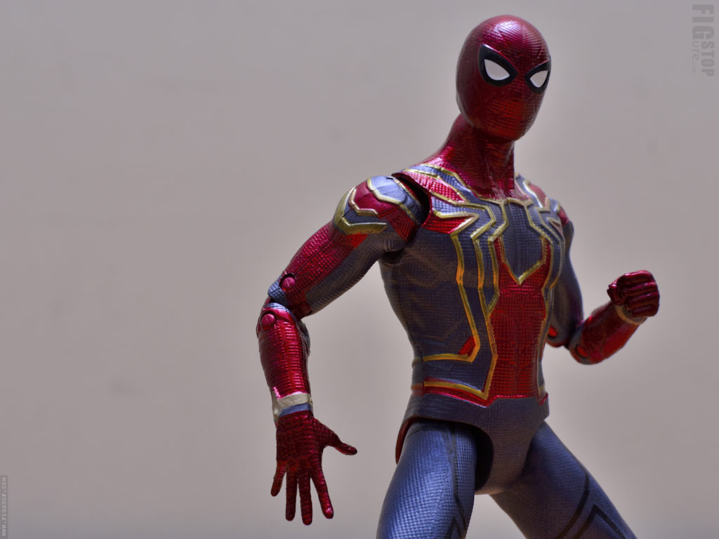 Chinese Iron Spider Action Figure