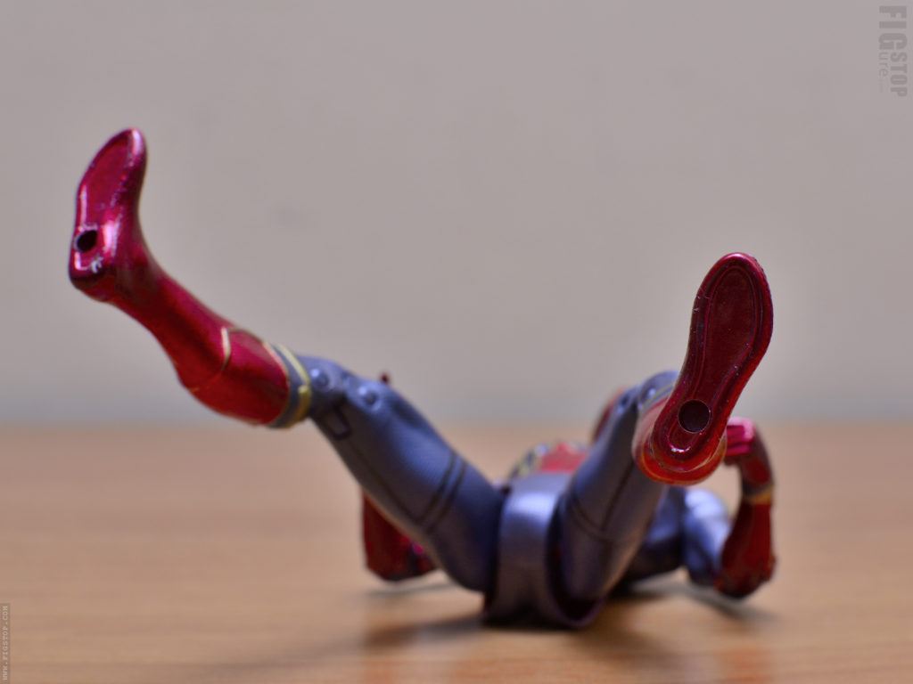 Chinese Iron Spider Action Figure - Footpegs