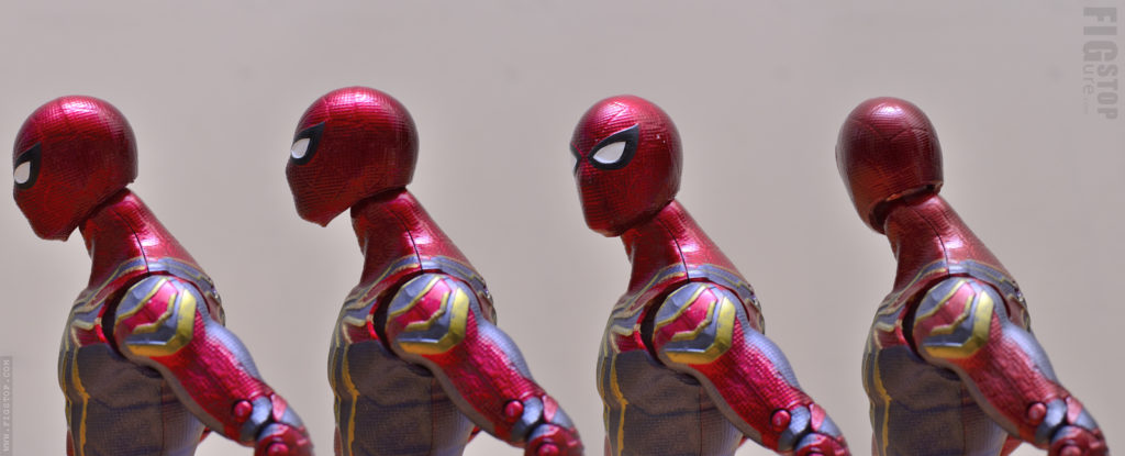 Chinese Iron Spider Head - Articulation