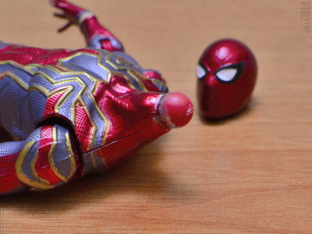 Chinese Iron Spider - Head Pegs