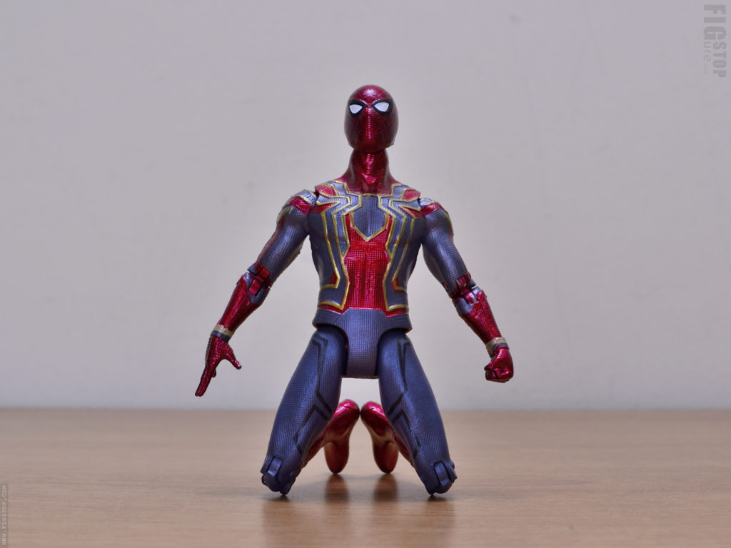 Chinese Iron Spider - Kneel Pose
