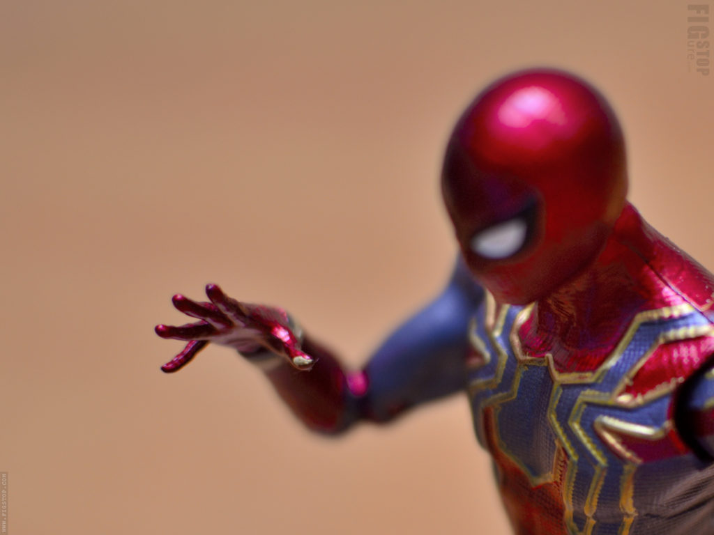 Chinese Iron Spider Action Figure - Paint Flaw