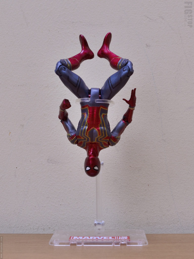 Chinese Iron Spider Flight Stand - Upside Down Pose