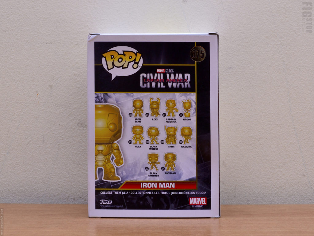 Funko Pop - Gold Chrome Ironman and Series