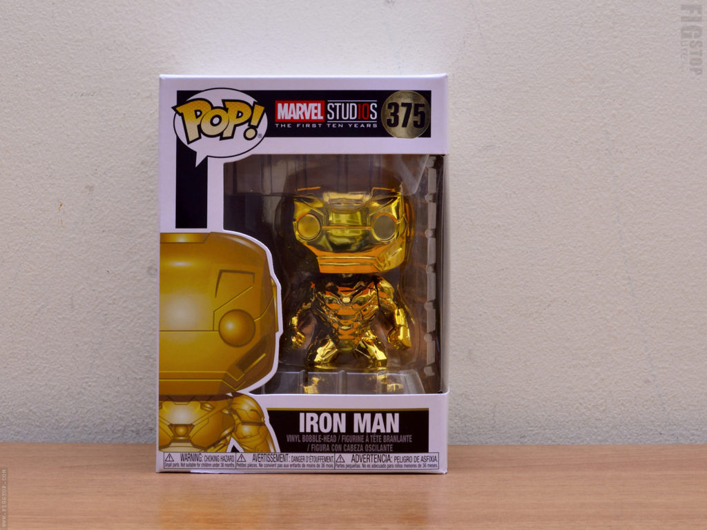 Funko Pop - Gold Chrome Ironman