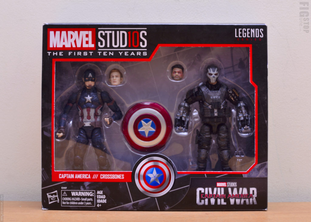 Marvel Studios First Ten Years - Captain America and Crossbones