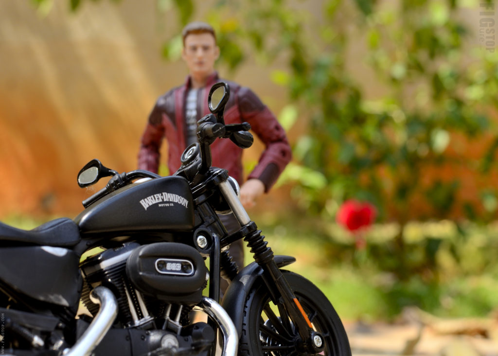Captain America Harley Davidson Iron 883 - Toy Photography